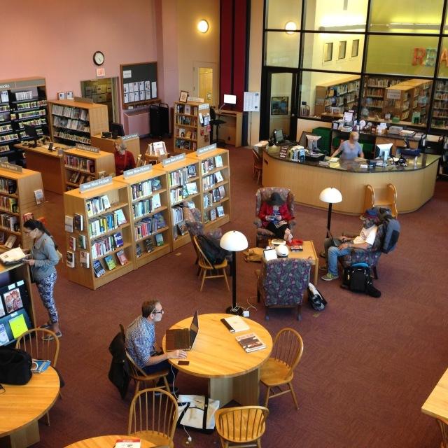Sausalito Public Library Interior