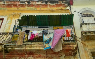 Laundry on Balcony Havana 2 Bud Ellison Flickr