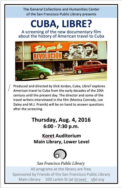 Cuba Libre SPL Poster